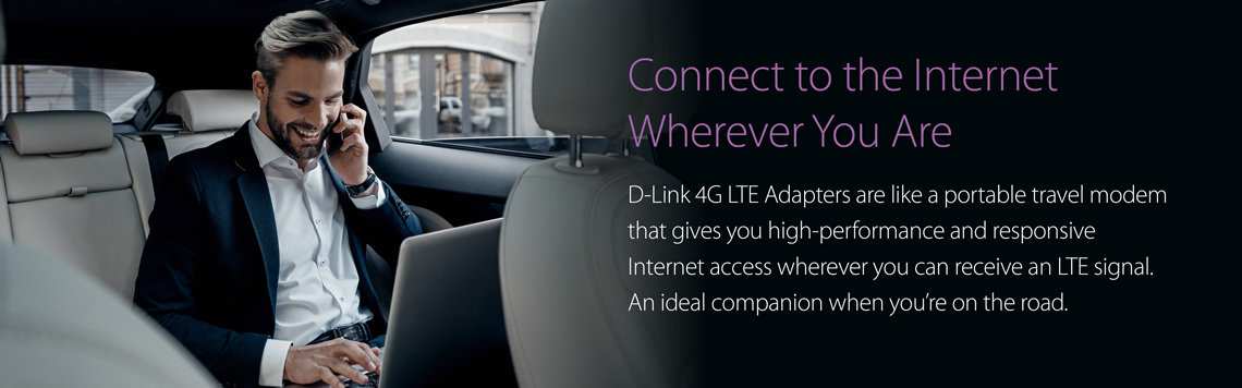 D-Link Mobile Hotspots and Adapters
