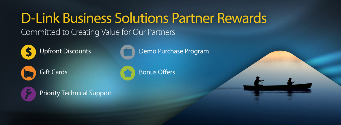 D-Link SMB Partner Rewards