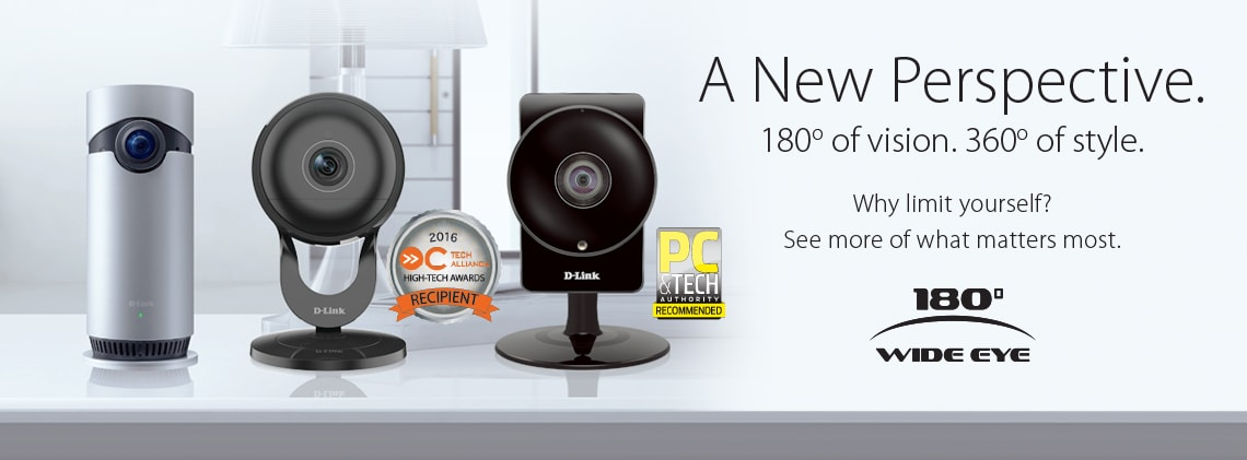 Omna 180 CAM HD and D-Link Cameras PC Tech Award