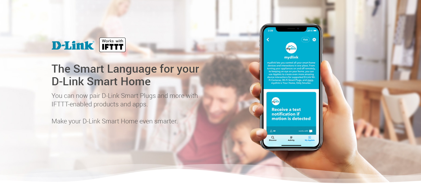 The Smart Language for your D-Link Smart Home