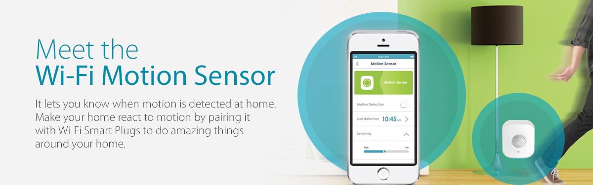 D-Link Wi-fi Motion Sensor and Siren