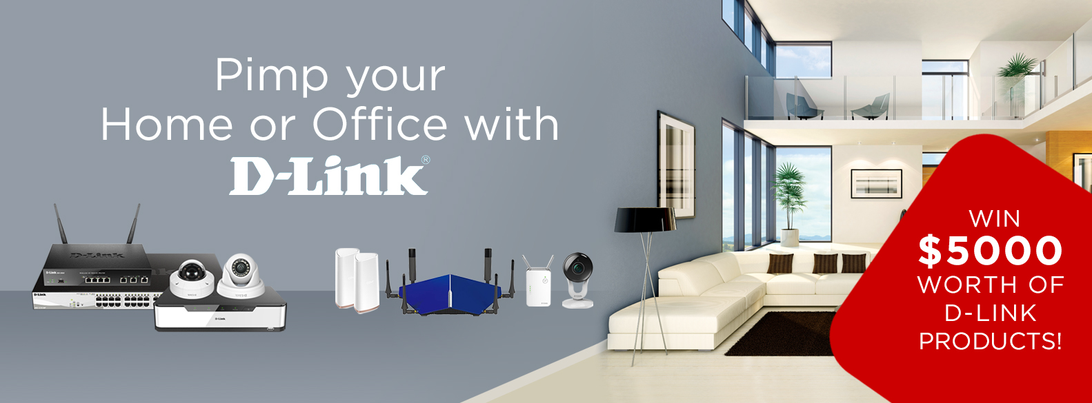 D-Link 2019 Promotion Pimp Your Home or Office
