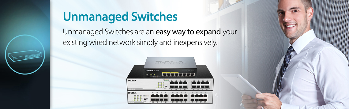 D-Link for Business SMB Unmanaged Switches