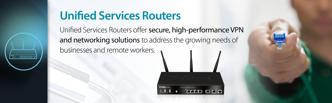D-Link Business Unified Services Router