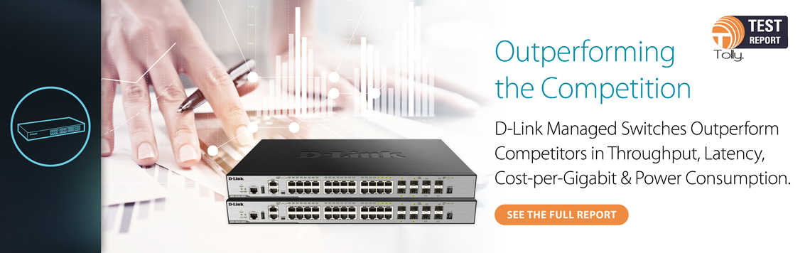 D-Link Smart Managed Switches Tolly Reports