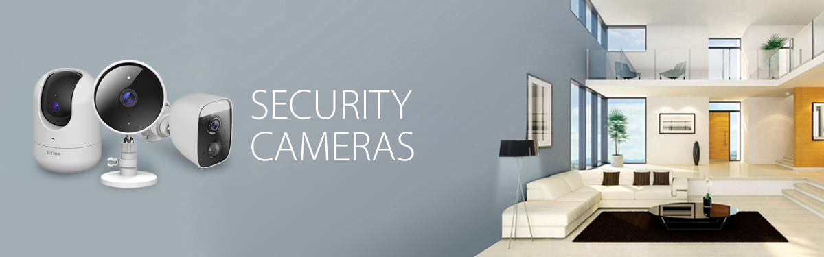 D-Link Wi-Fi Security Cameras