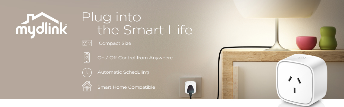 mydlink Mini Wi-Fi Smart Plug DSP-W118