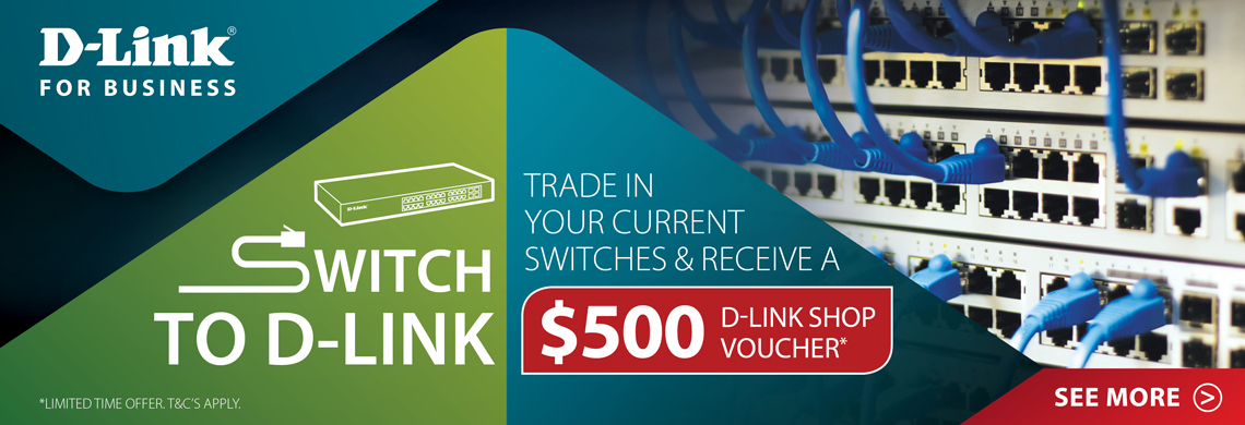 D-Link Trade In Switch Promotion
