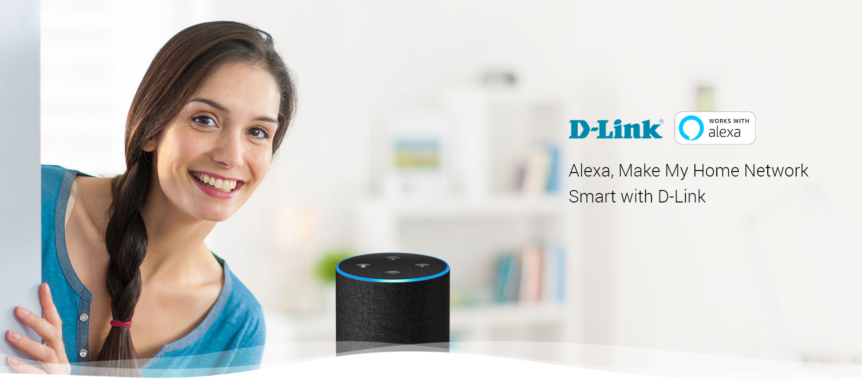 Alexa, Make My Home Network Smart with D-Link