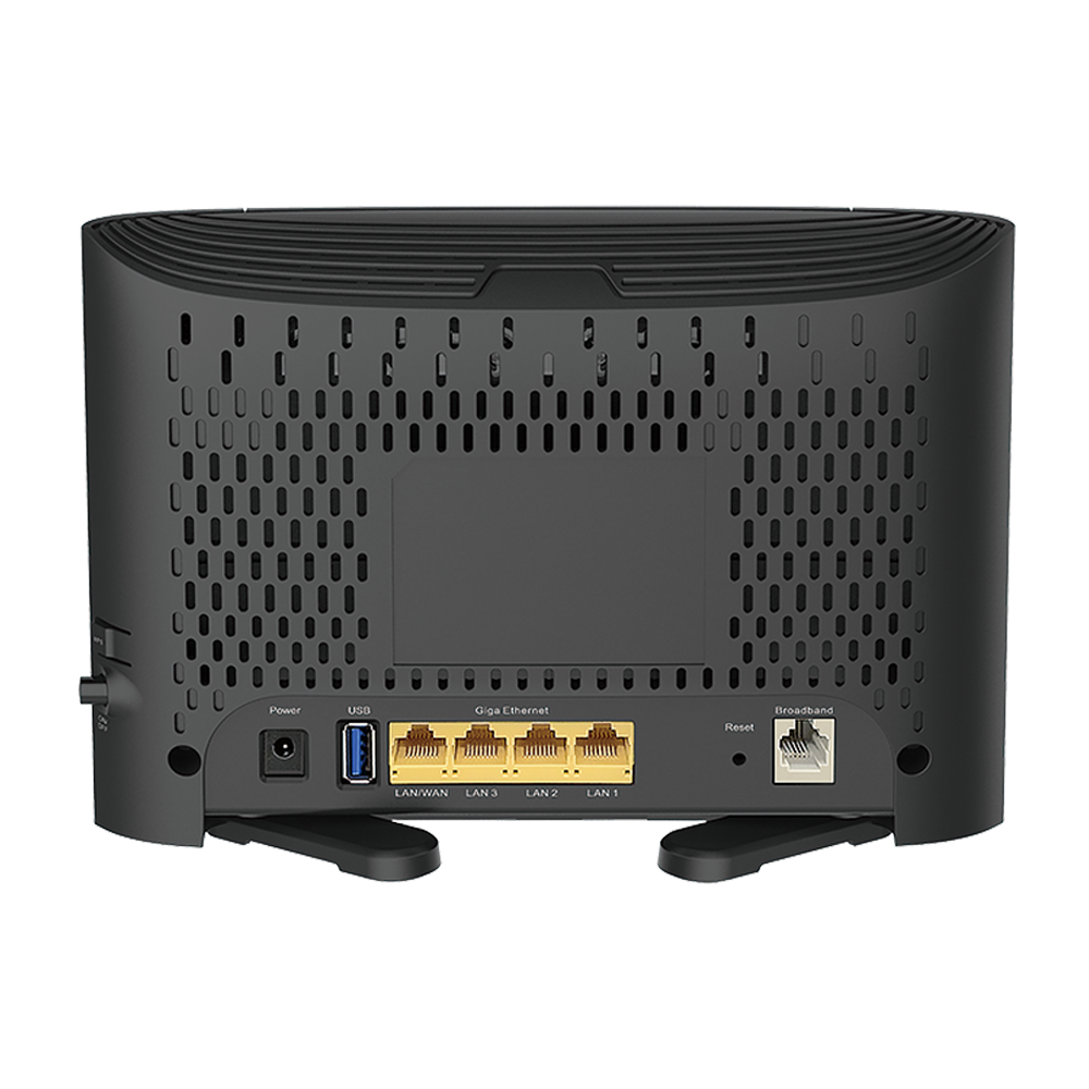 DSL-3785 Modem Router Back