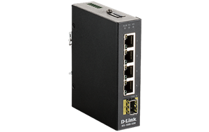 DIS-100G Industrial Switch Side View