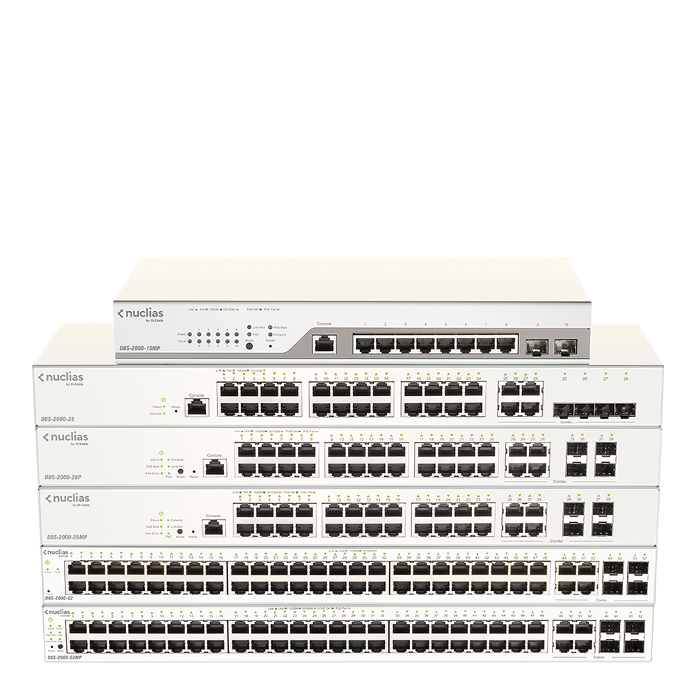 DBS-2000 Series switches